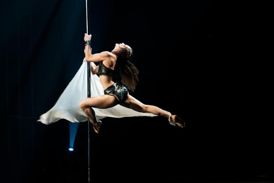 поли-арт школа танцев на пилоне