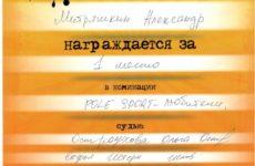 Диплом Александра Митряшкина