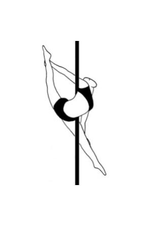 Pole dance урок - 49 Capezio split
