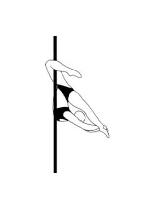 Pole dance урок - 63 Cocoon