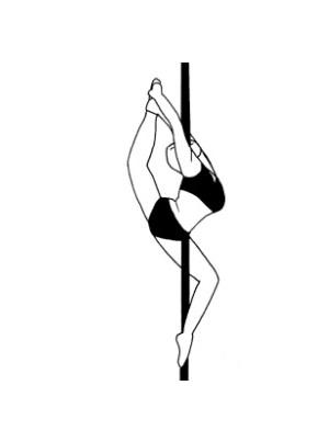 Pole dance урок - 65 Eagle