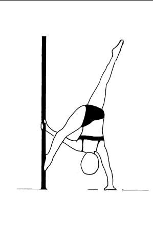 Pole dance урок - 66 Floor K